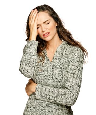 PMS Symptome: Kopfschmerzen
