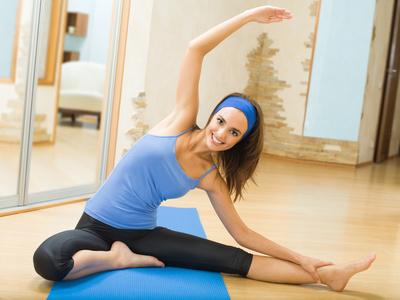 Mit Fitness PMS Symptome lindern
