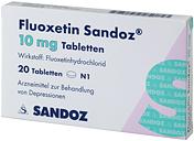 Fluoxetin bei PMS